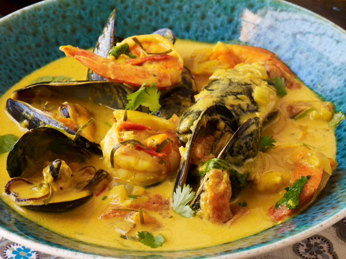 Curried coconut seafood soup seafood rassa recipe hemant oberoi curried coconut seafood soup seafood rassa recipe hemant oberoi food wine forumfinder Images