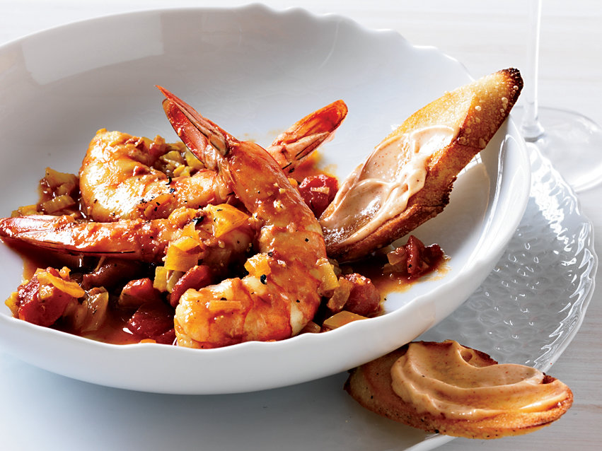 Marseille Style Shrimp Stew Recipe Melissa Clark Food Wine