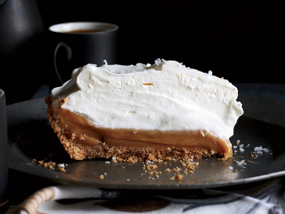 <p>Salted Caramel Pie</p>