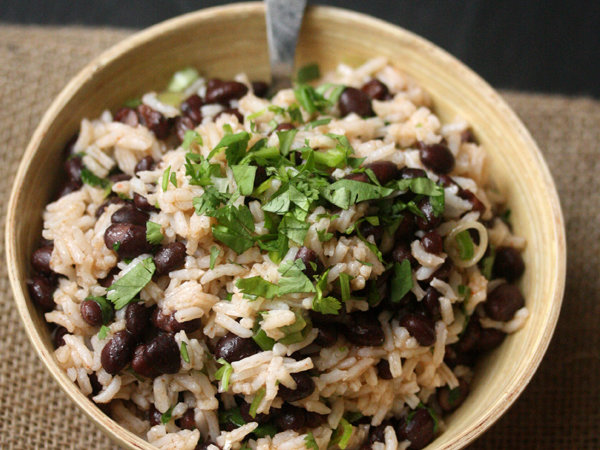 Image result for black bean and rice salad