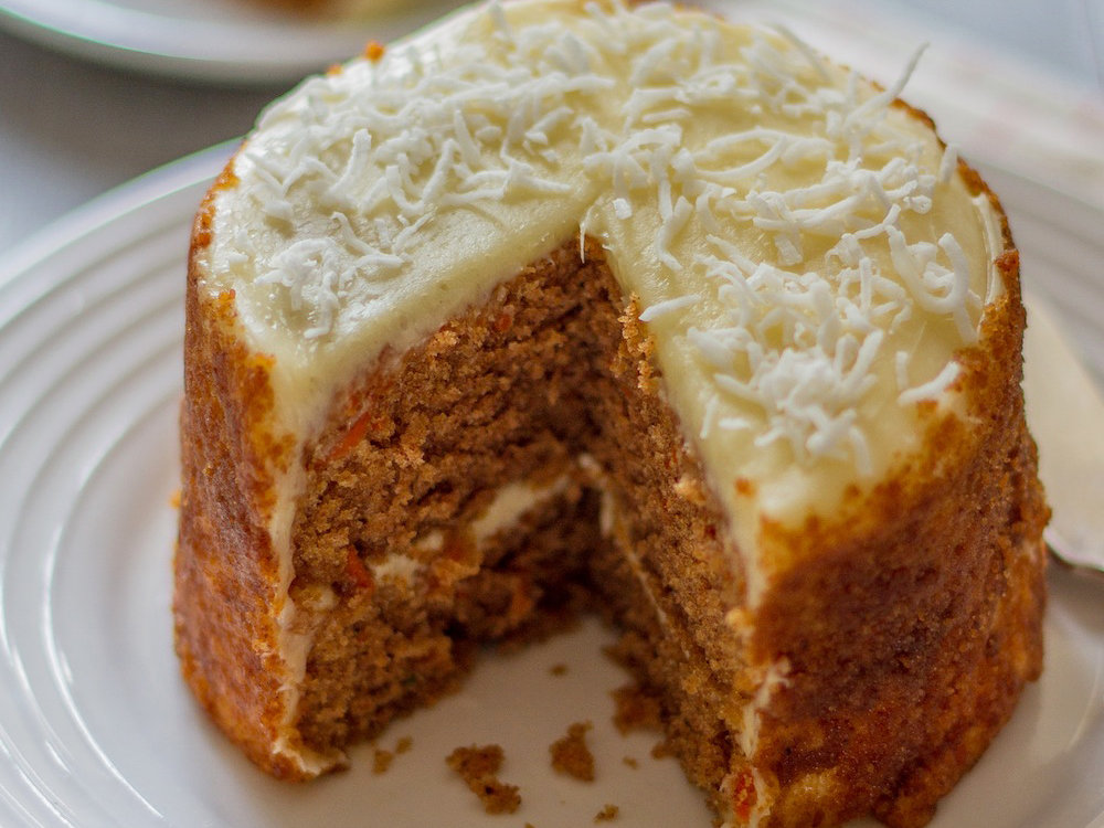 Coconut Flour Carrot Cake Recipe Emily Farris Food Wine