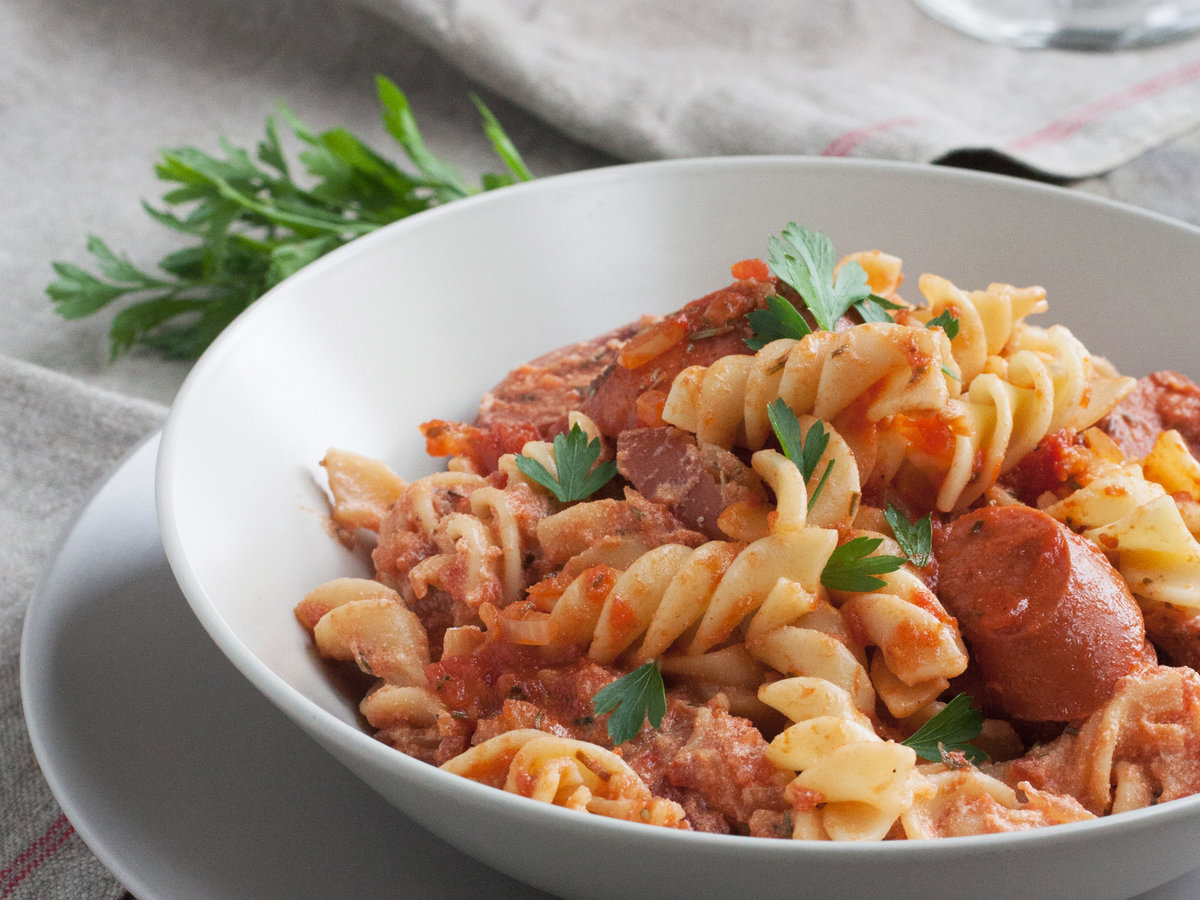 Original 201305 R Fusilli With Spicy Chicken Sausage