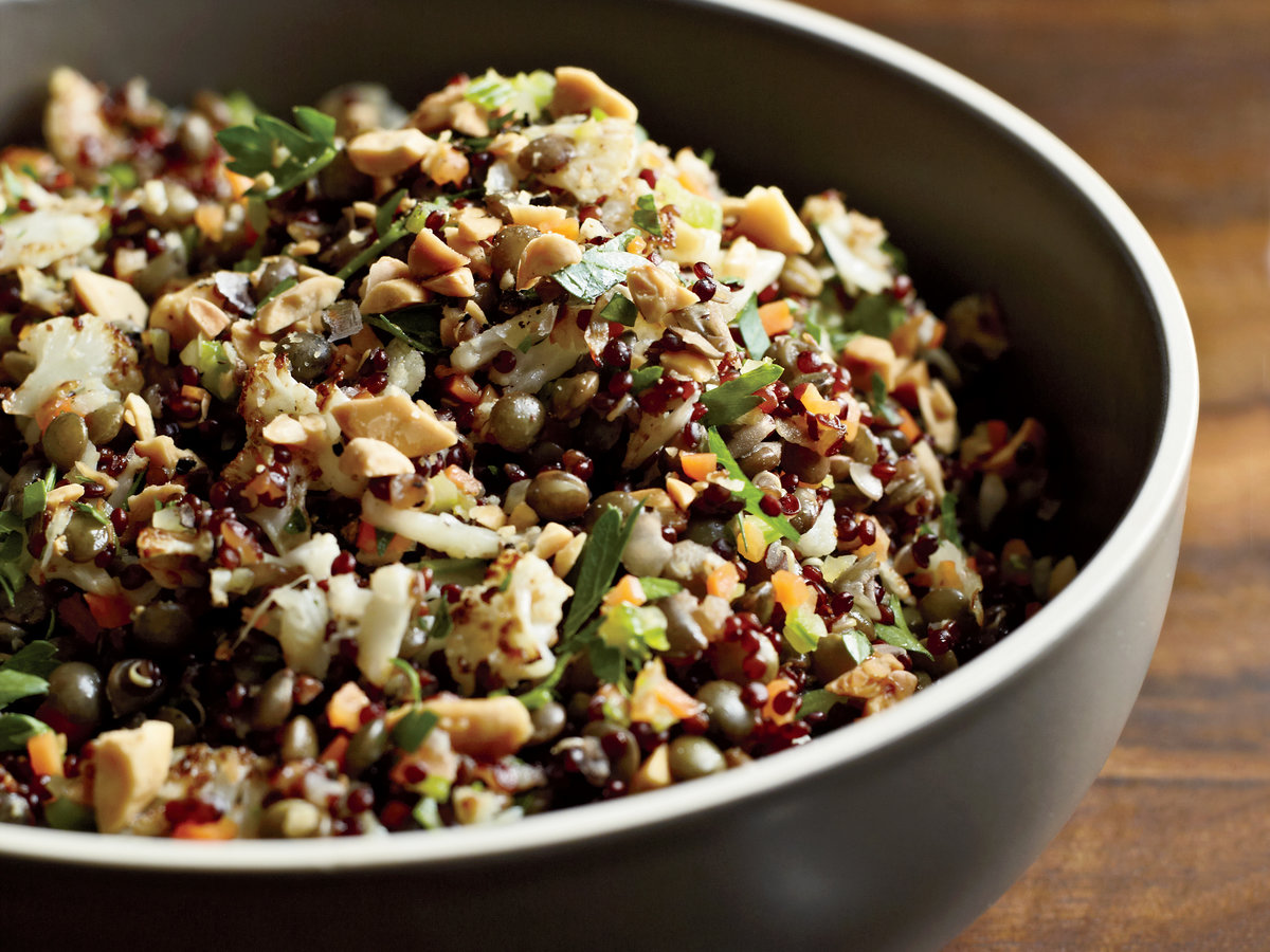 Red quinoa and lentil pilaf recipe akasha richmond for Cuisine quinoa