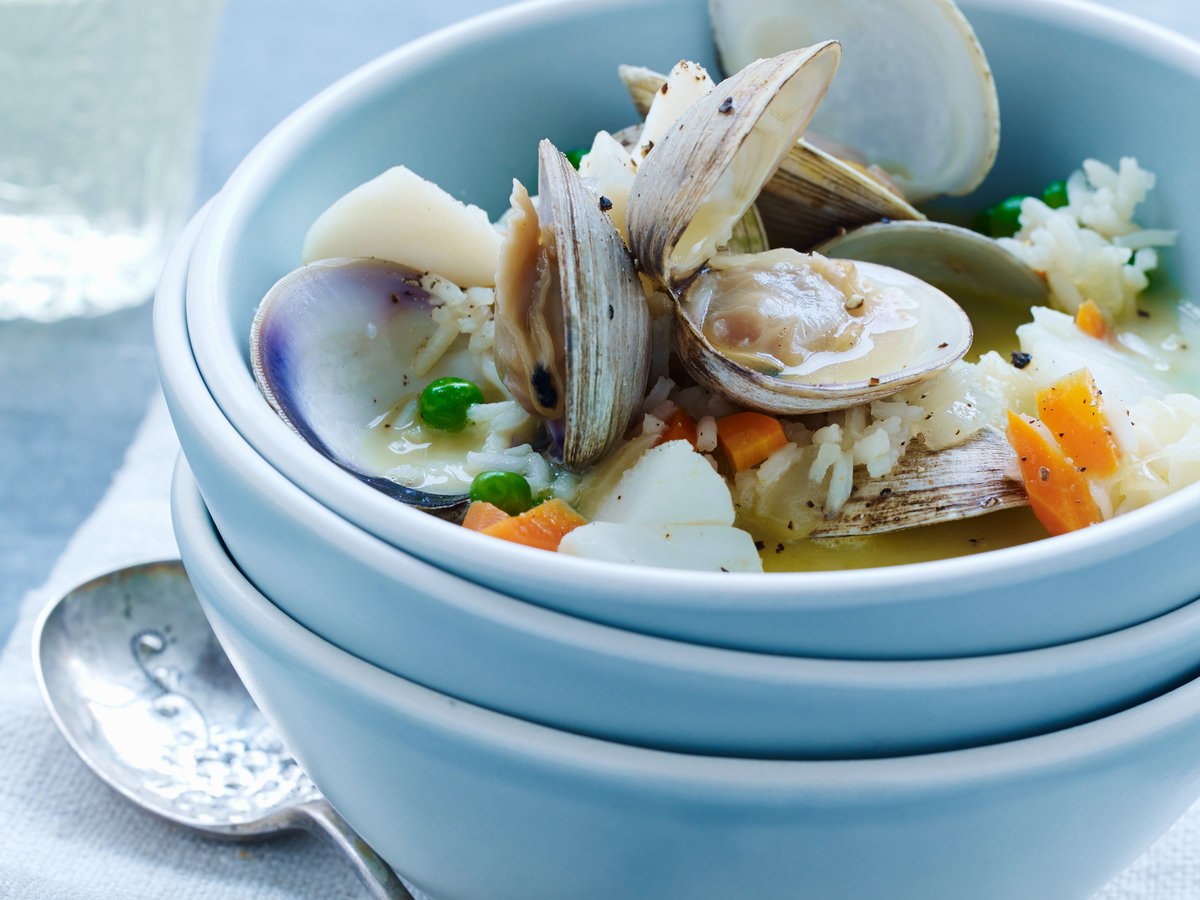 Cod-and-Clam Avgolemono Stew Recipe - Quick From Scratch Fish ...