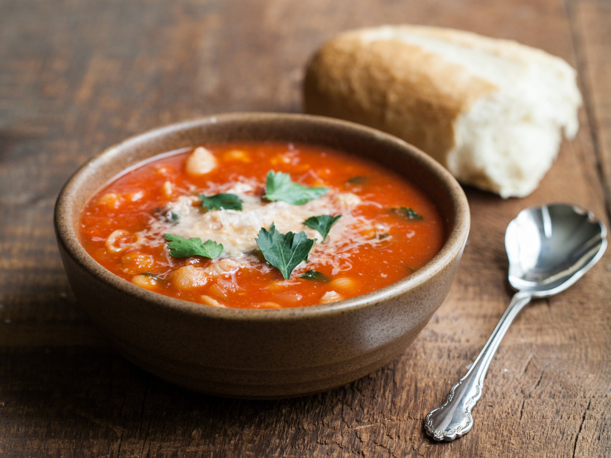 Food And Wine Vegetable Soup Recipe