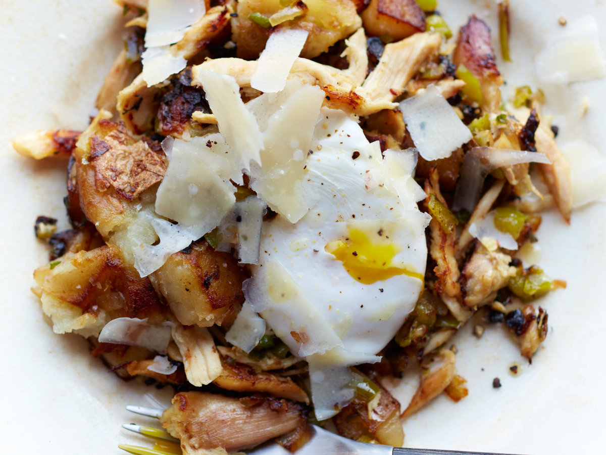 Chicken hash with eggs recipe jonathan waxman food wine forumfinder Choice Image