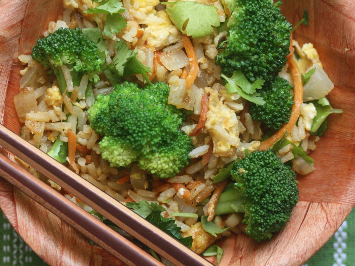 Broccoli fried rice recipe phoebe lapine food wine forumfinder