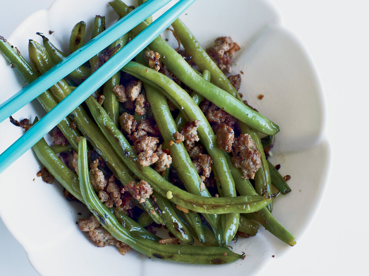 Chinese long beans with minced pork and ginger recipe kay chun original 201310 r chinese long beans with minced forumfinder Gallery