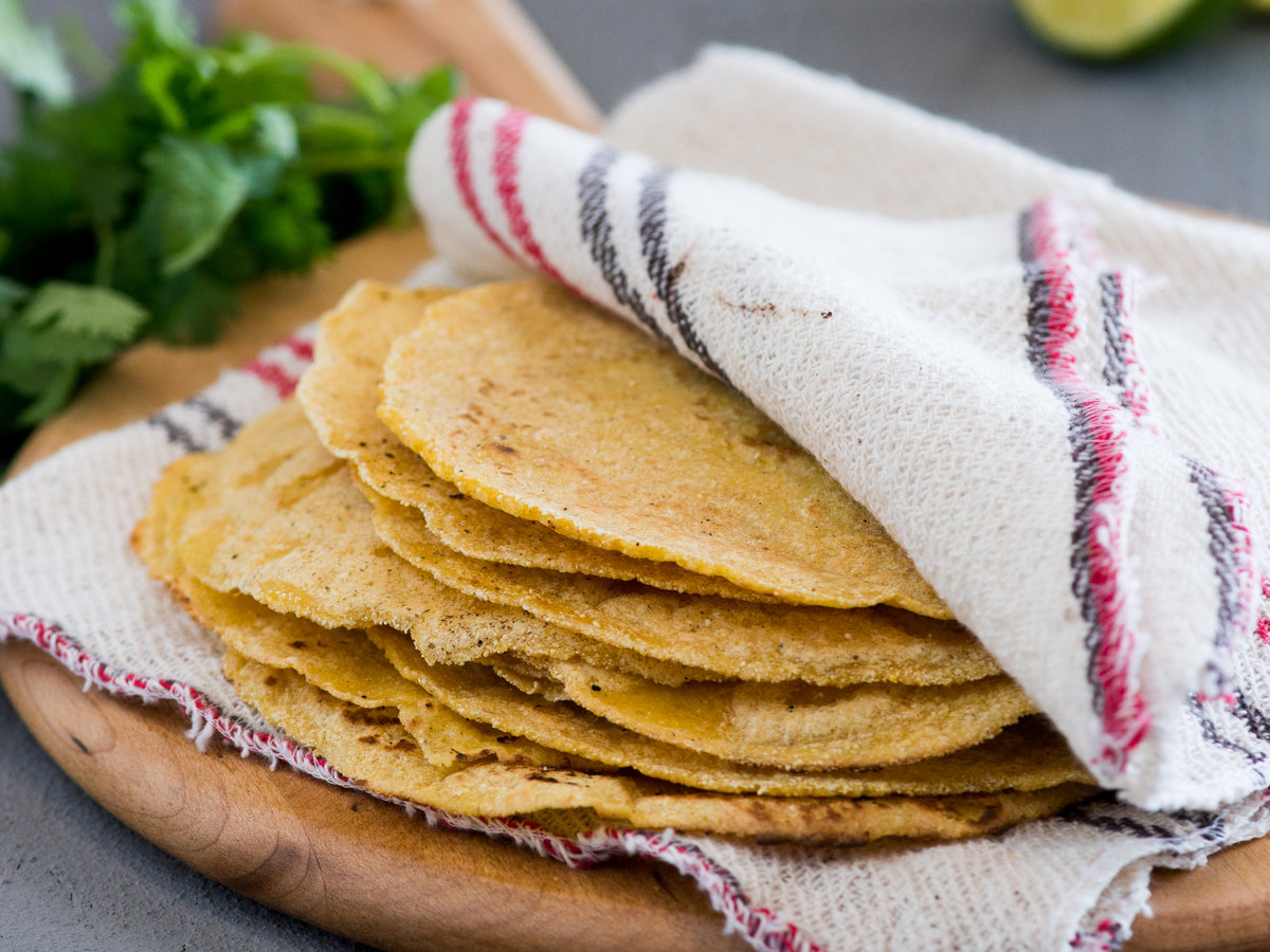 Homemade Corn Tortillas pics