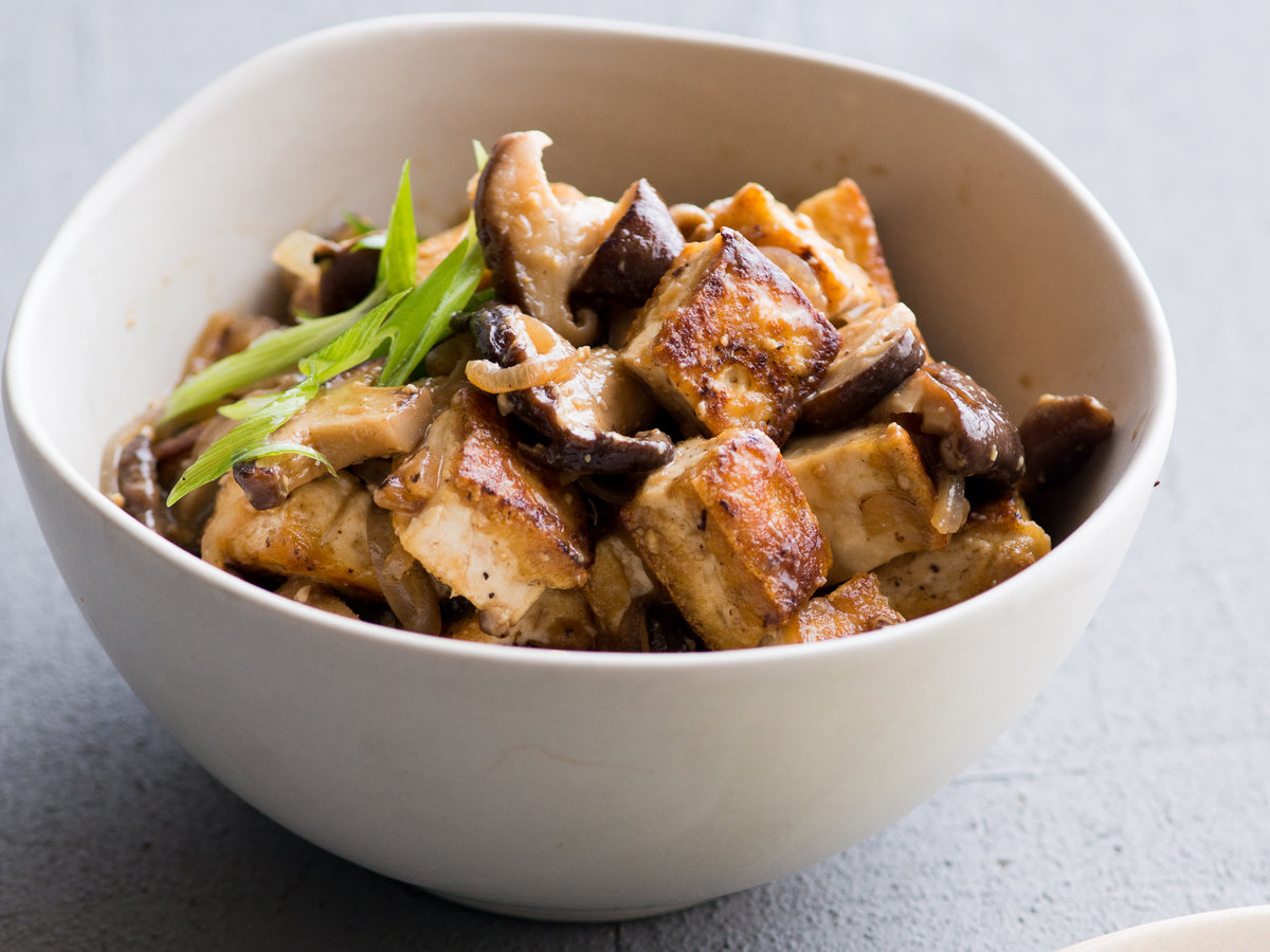 miso and shiitake mushroom tofu recipe todd porter and diane cu rh foodandwine com