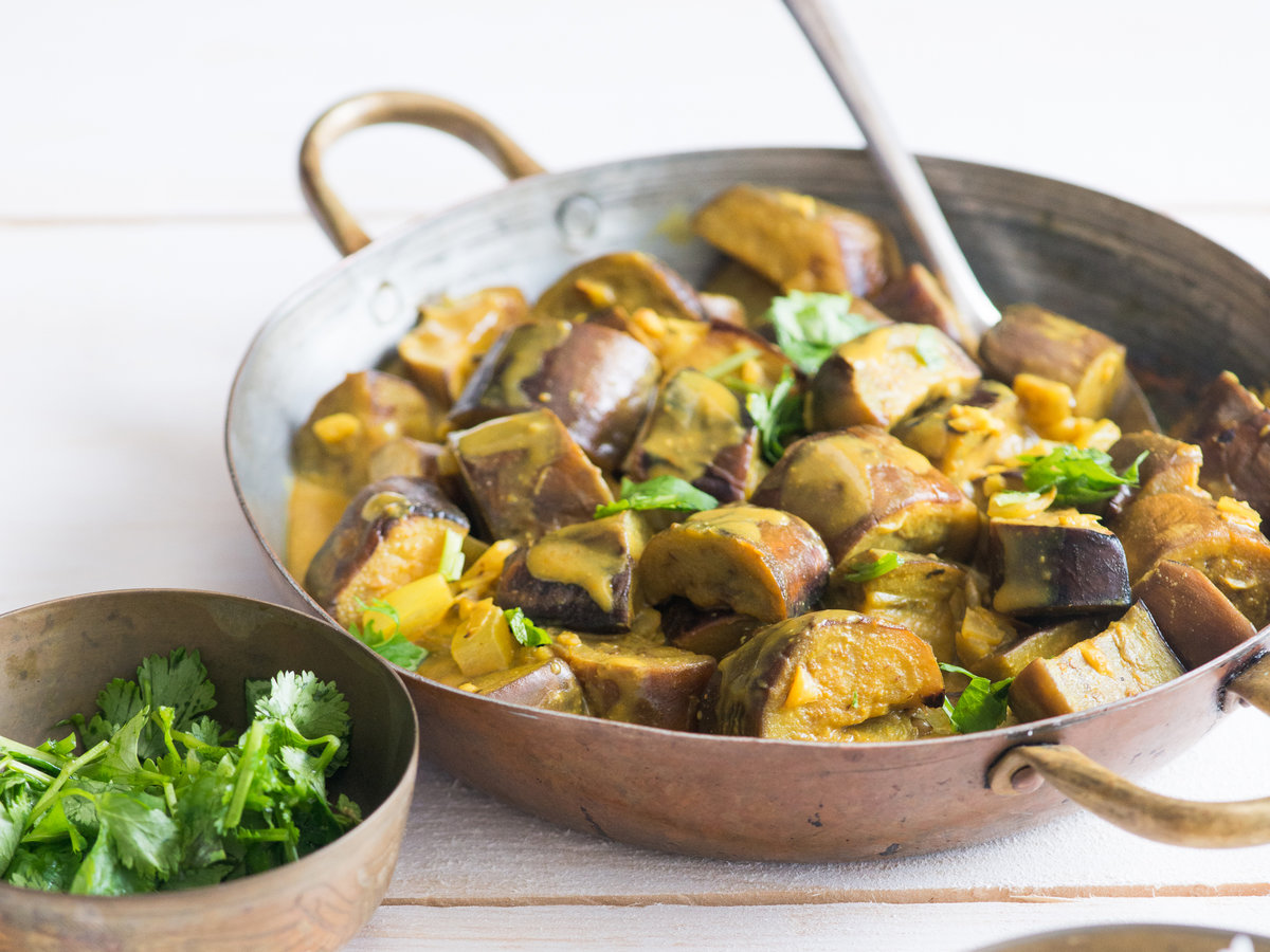 Aubergine and Coconut Curry Recipe picture