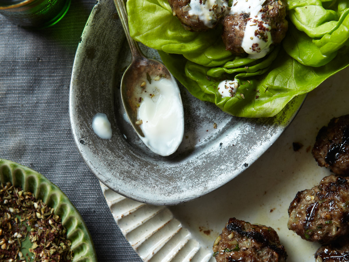 Grilled Middle Eastern Meatballs