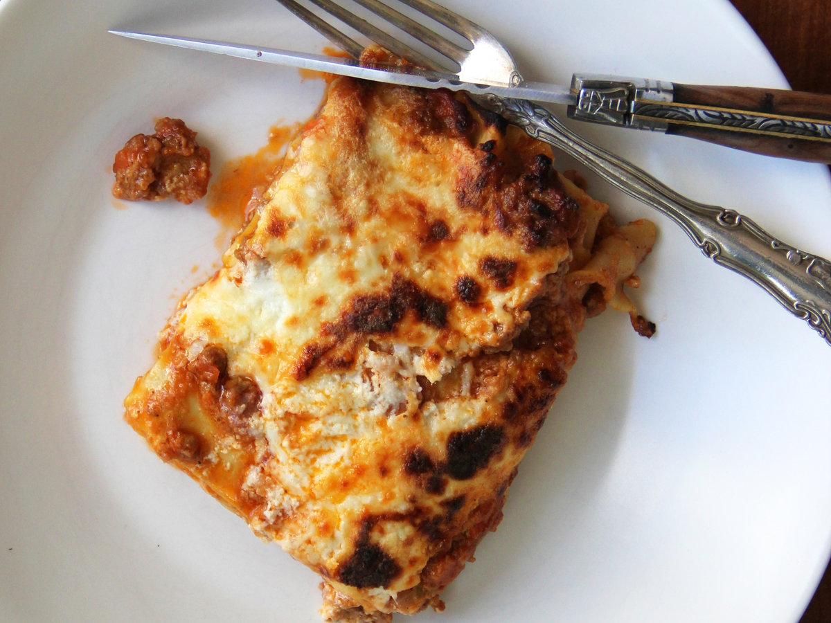 Meatloaf Mix Lasagna