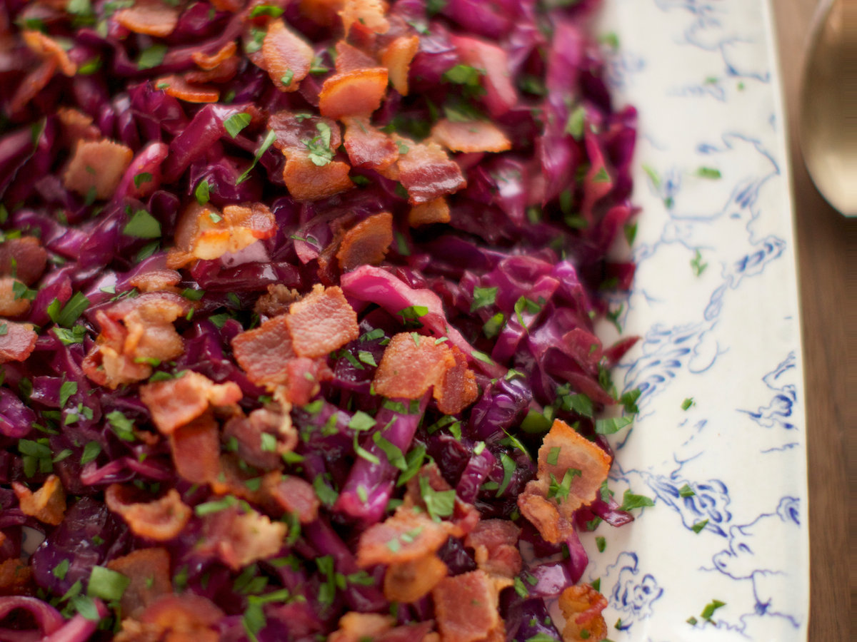 Cabbage bacon and pork chop recipes