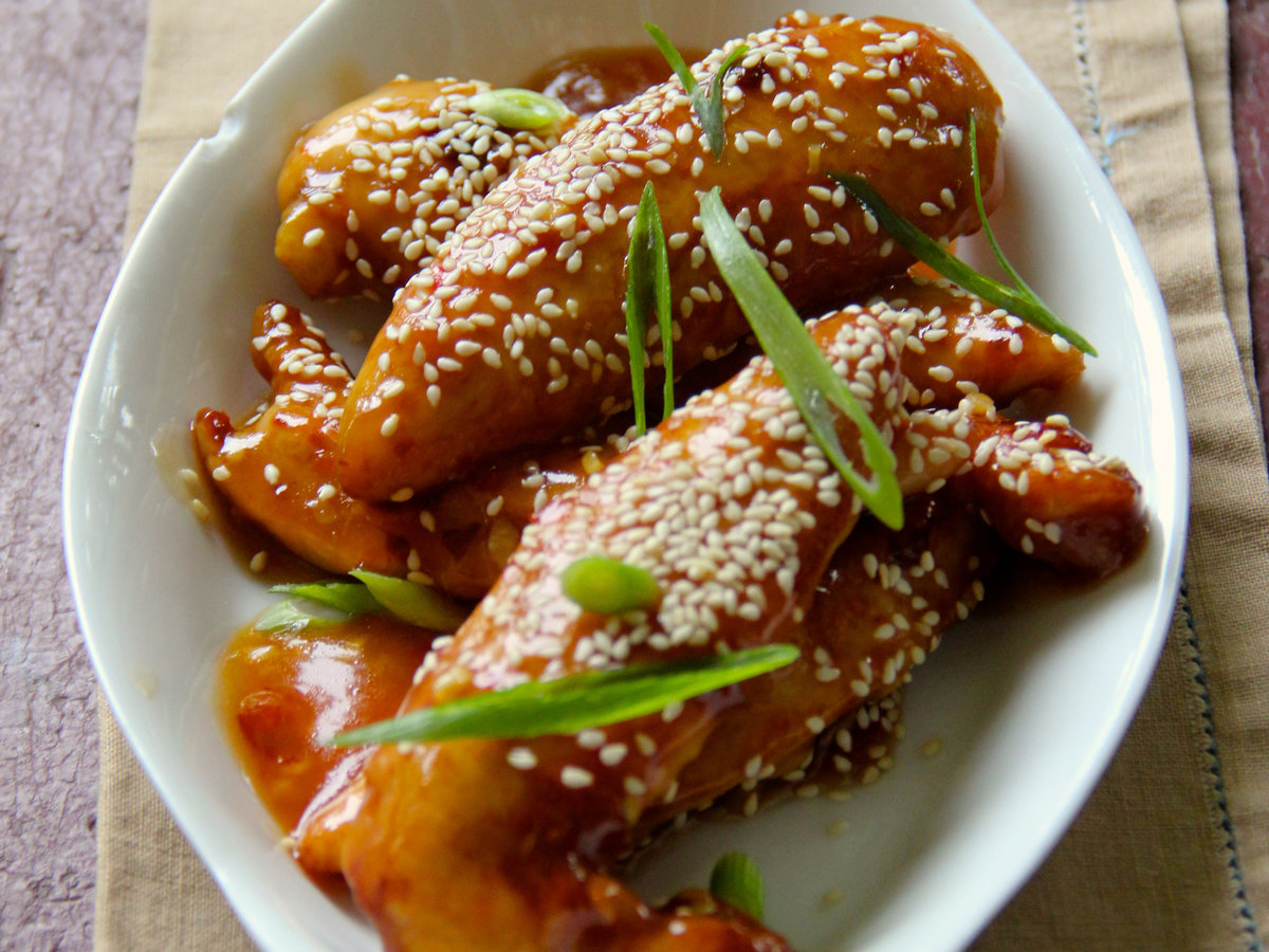 Sesame Chicken Tenders