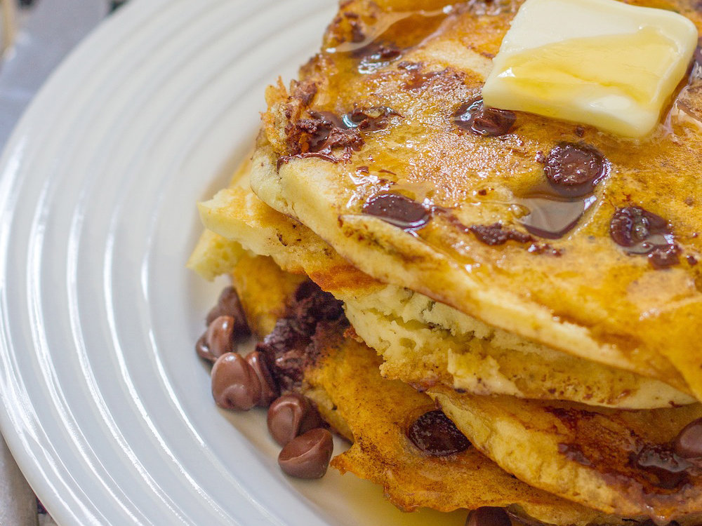 <p>March 11: Chocolate Chip Coconut Pancakes</p>