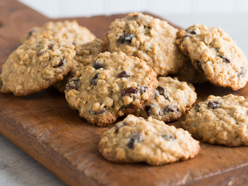 Oatmeal Raisin Cookies With Old Fashioned Oats