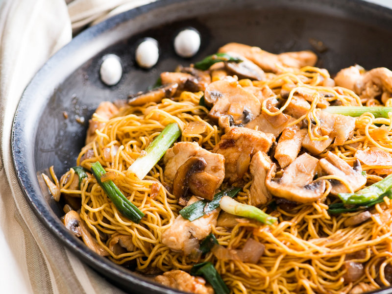 how to make restaurant style lo mein