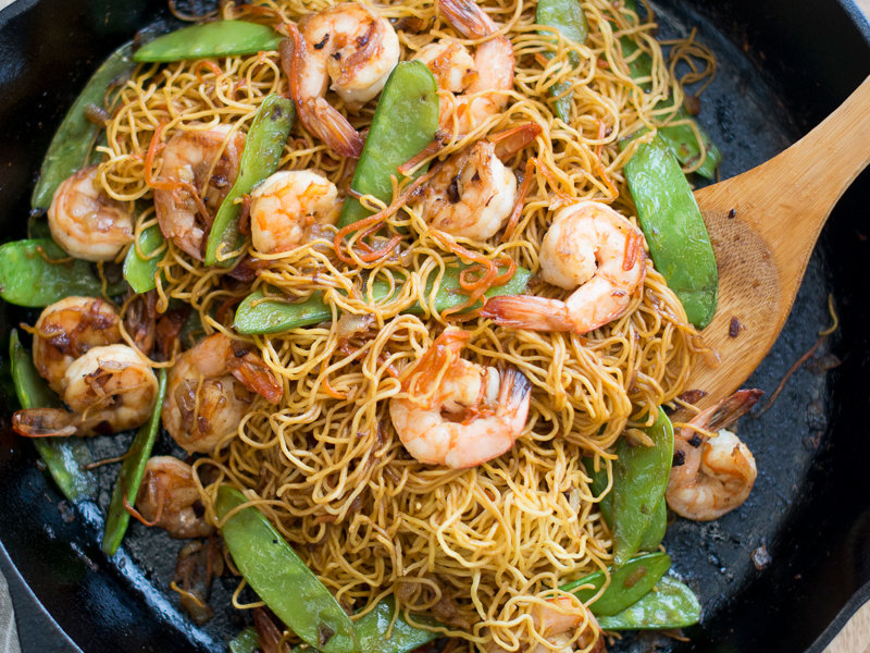 Shrimp chow mein recipe todd porter and diane cu food wine 201403 r shrimp chow meing forumfinder Gallery