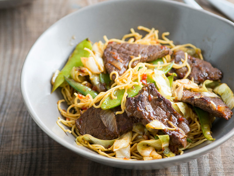Easy chow mein noodles recipes ideas food wine food wine spicy beef chow mein forumfinder Images