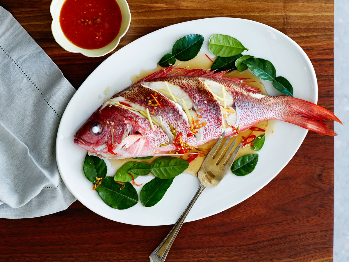 Well, asian recipe red snapper think