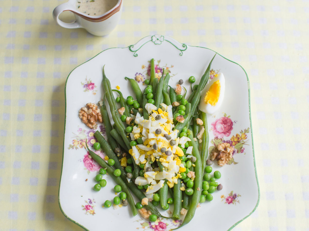 Mimosa Salad - 6 classic Mimosa salad recipes with canned food 80