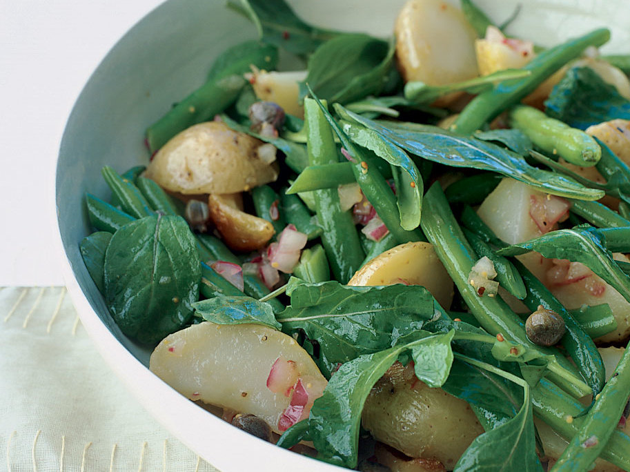 Arugula Salad With Potatoes and Green Beans