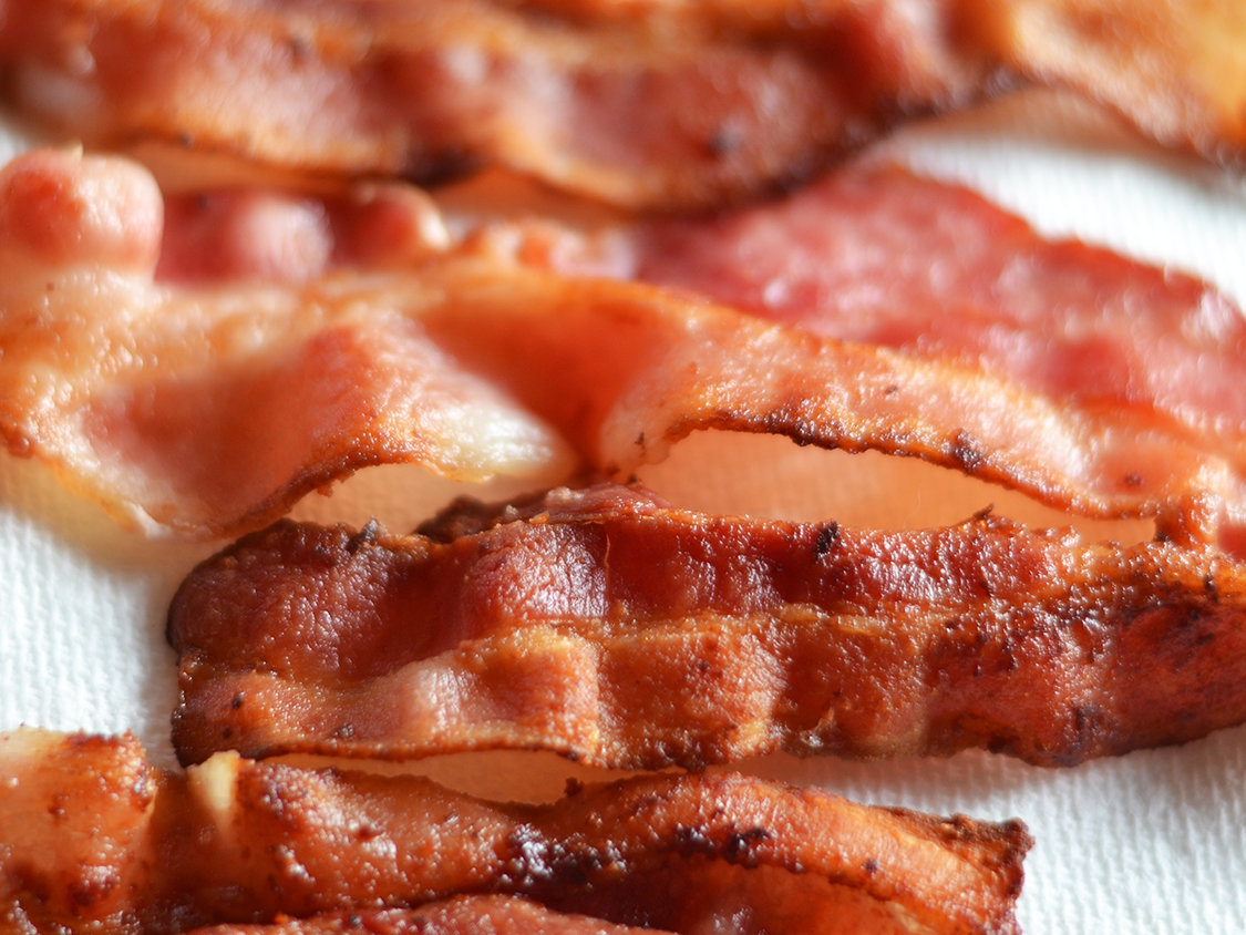 bacon being more expensive