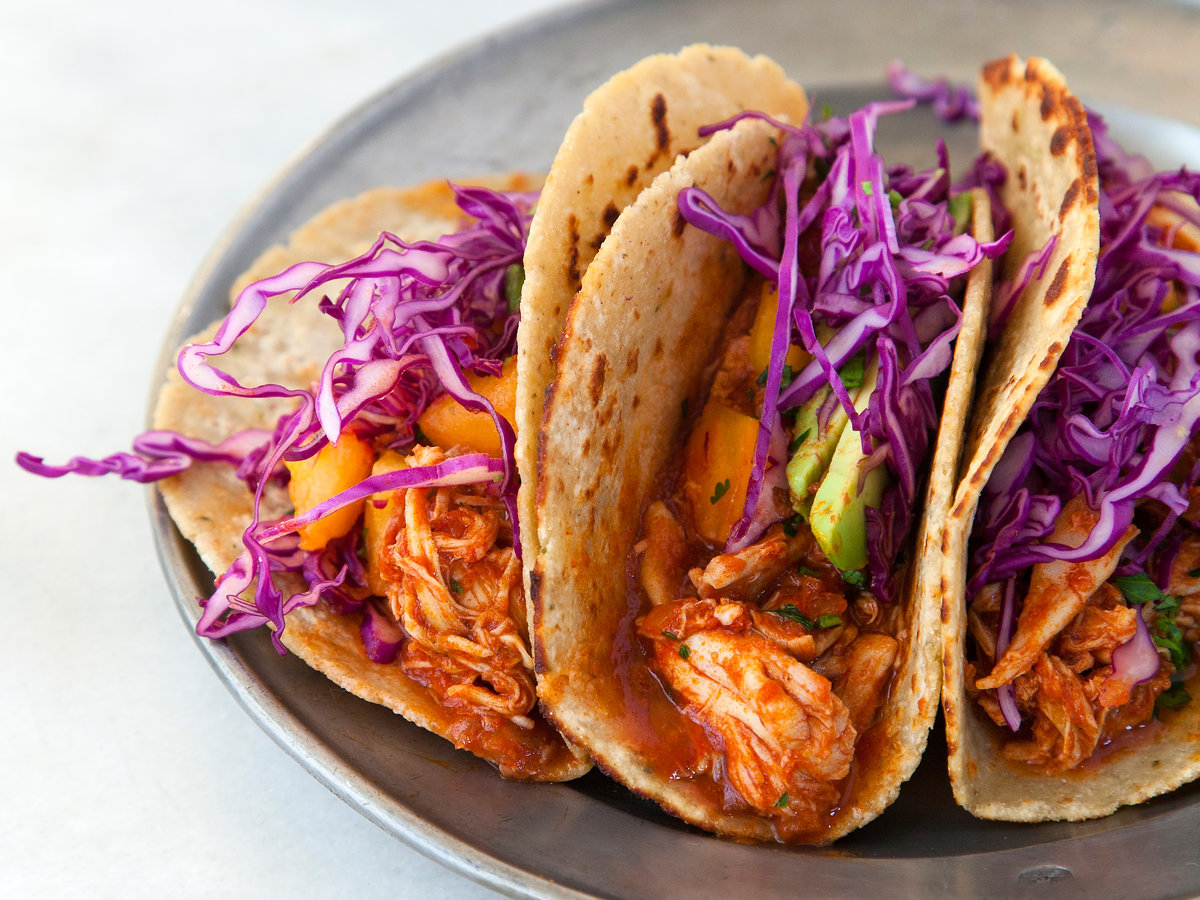 Slow Cooker Sweet Paprika Chicken Tacos