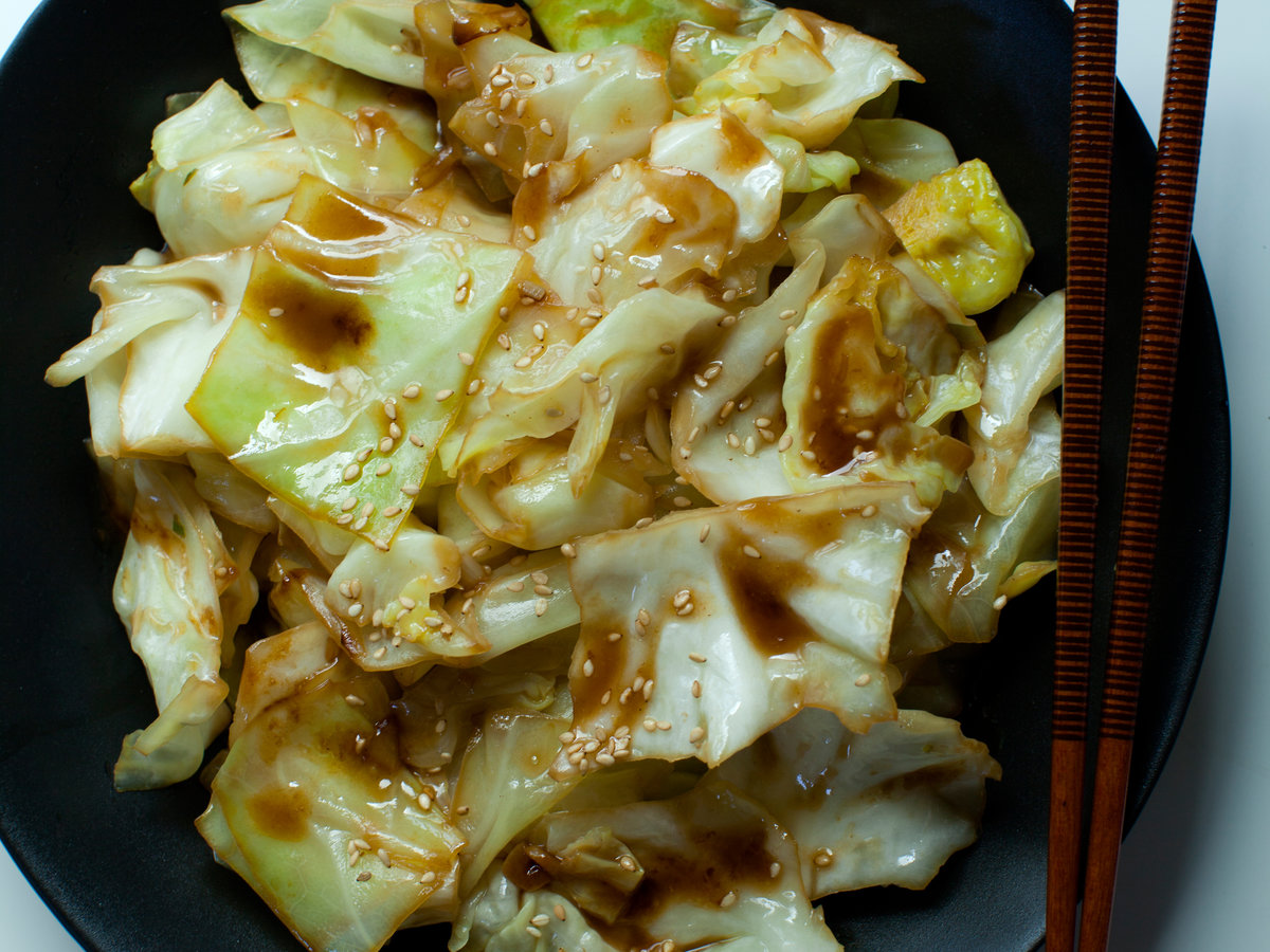 Soy Sauce Butter Cabbage