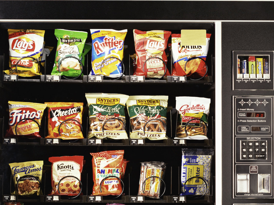 CIA vending machine theft