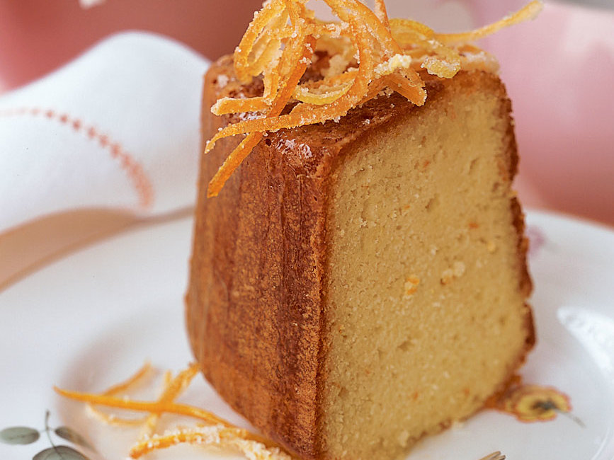 Citrus-Glazed Yogurt Cake