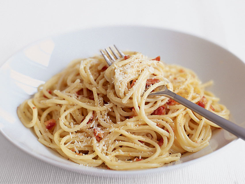 Creamy Spaghetti Carbonara Recipe - Anne Quatrano | Food & Wine