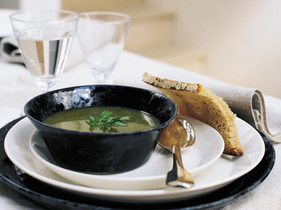 Fresh Herb Soup