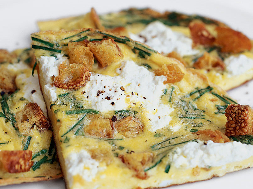 Frittata with Fresh Herbs