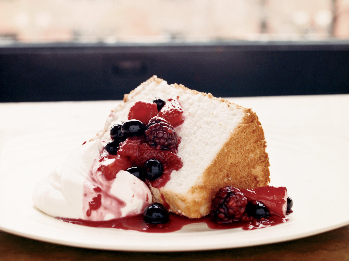 Fresh Fruit Angel Food Cake Recipe