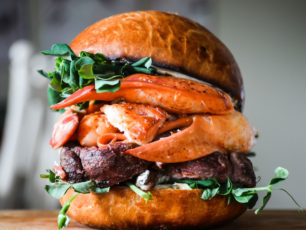 FWX SURF AND TURF BURGER