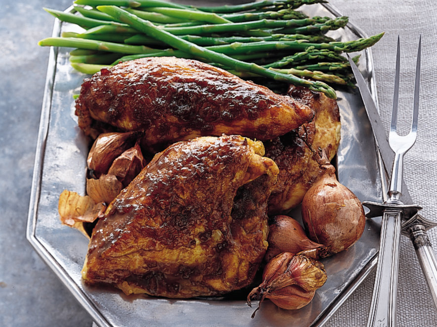 Bbq Chicken sauce with breast