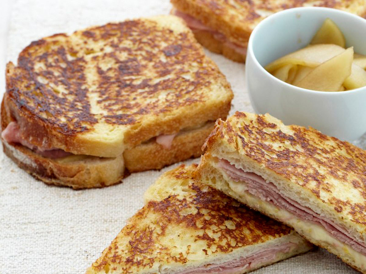 Ham and gruyre french toast sandwiches recipe jesse cool food 201004 r ham french toastg ccuart Images
