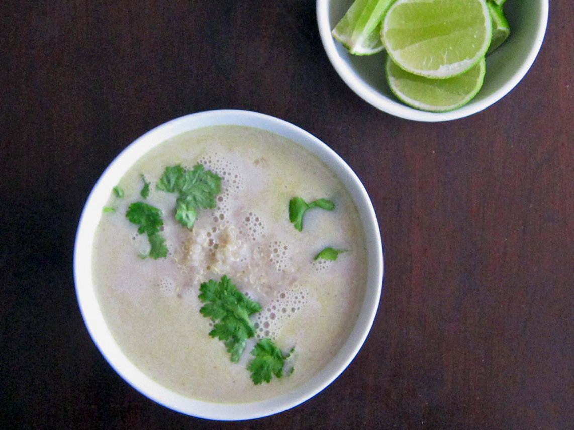 Thai Quinoa-Coconut Milk Soup