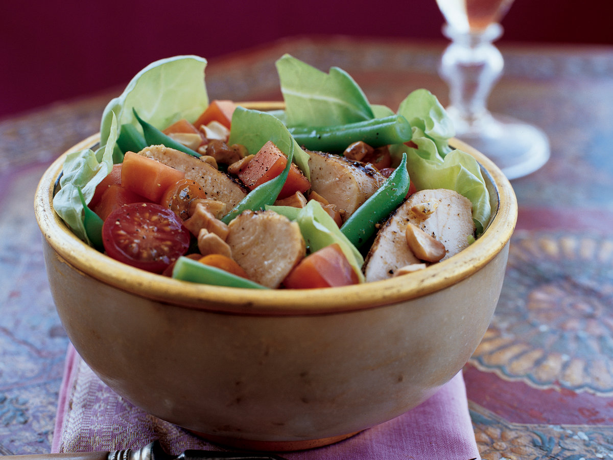 Indian-Spiced Chicken Salad