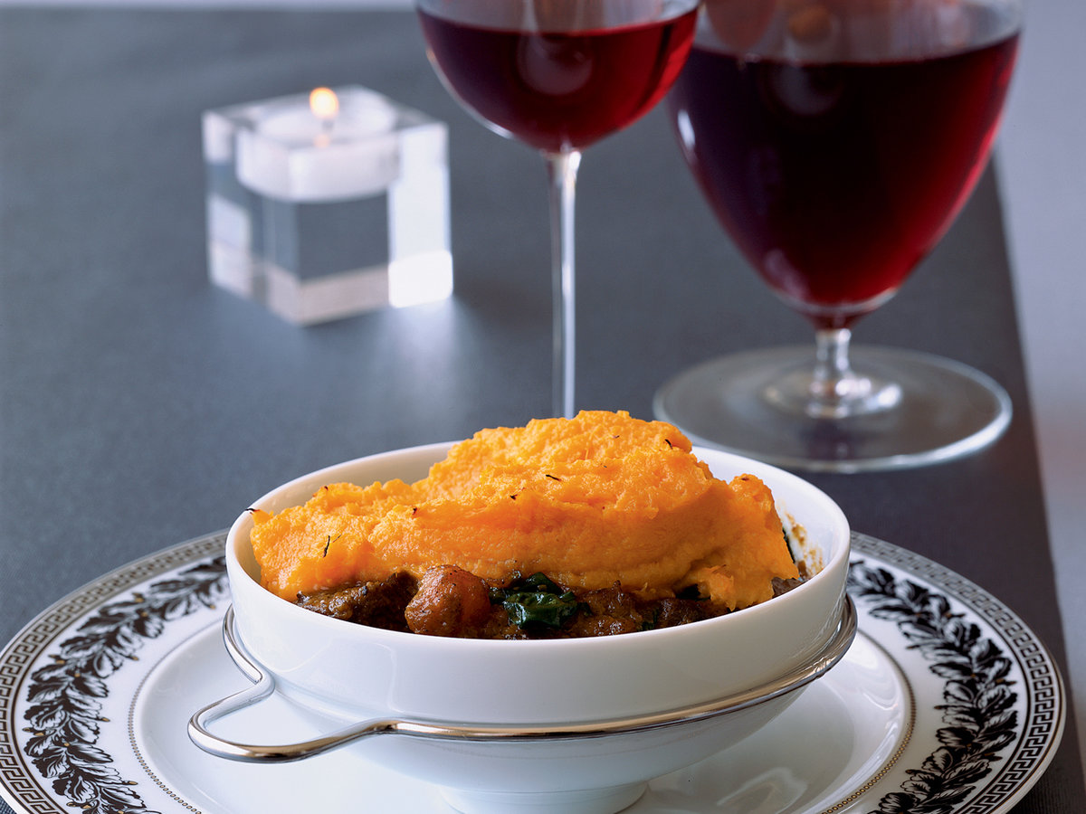 Lamb and Sweet Potato Shepherd's Pies