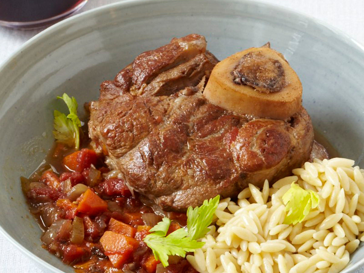 Osso Buco with Red Wine Recipe