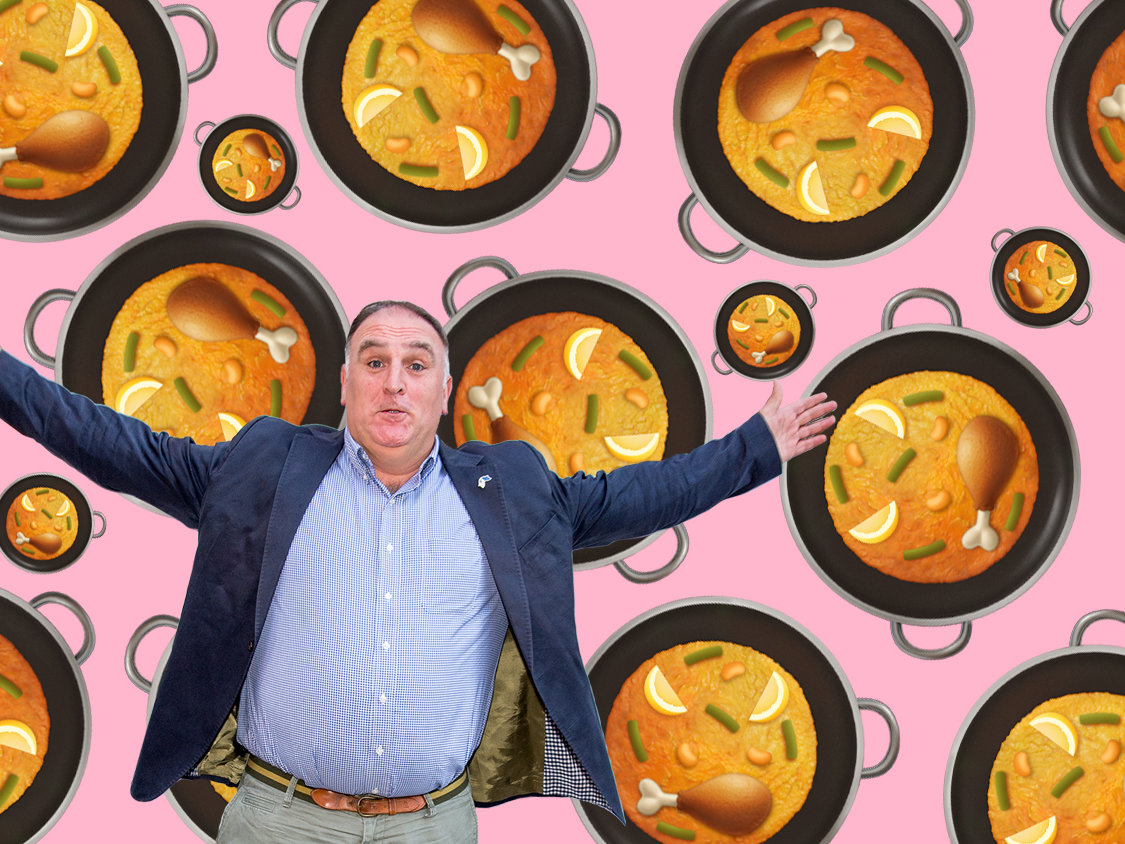Jose Andres paella