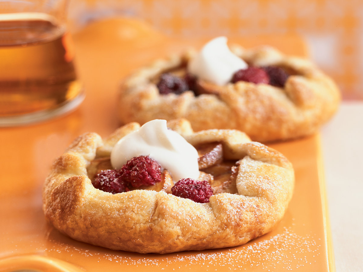 Peach and Berry Croustades