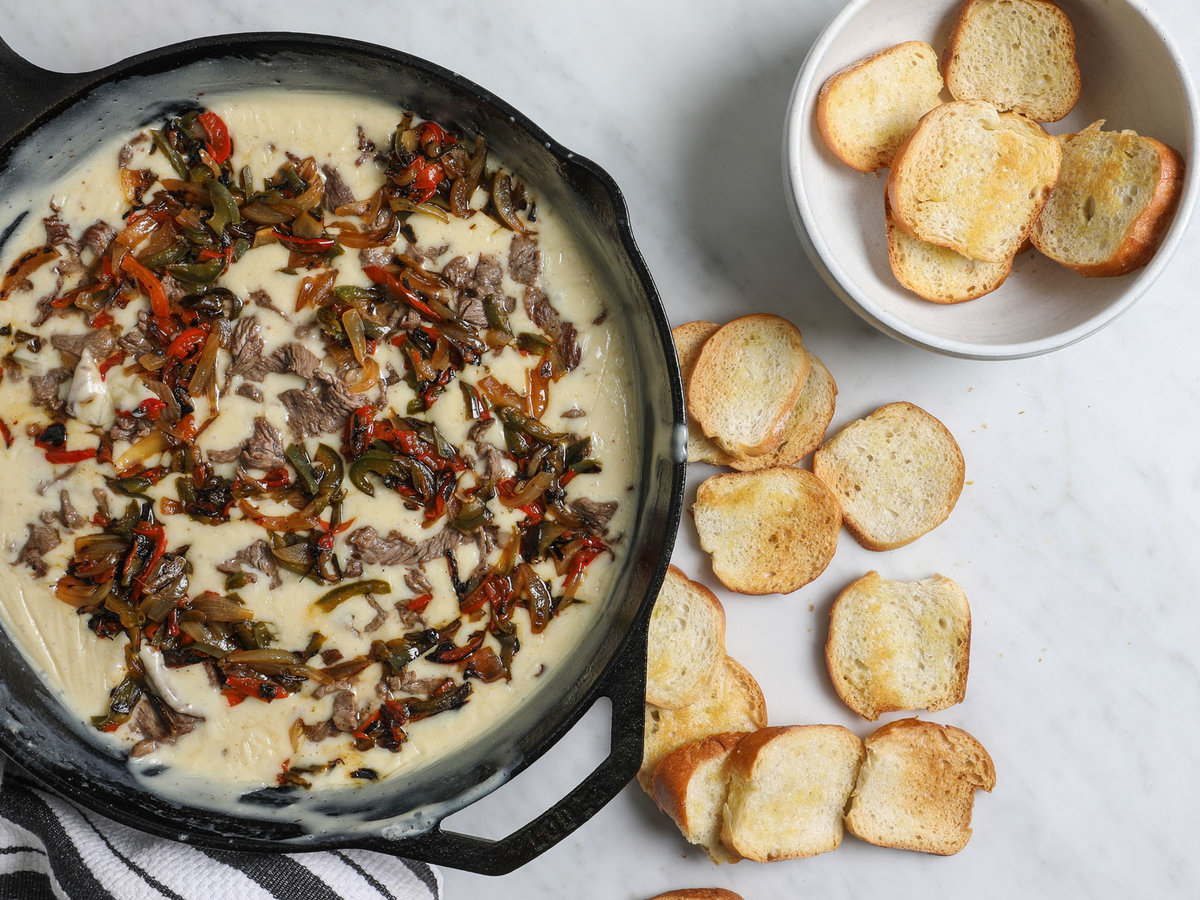 Philly Cheesesteak Queso