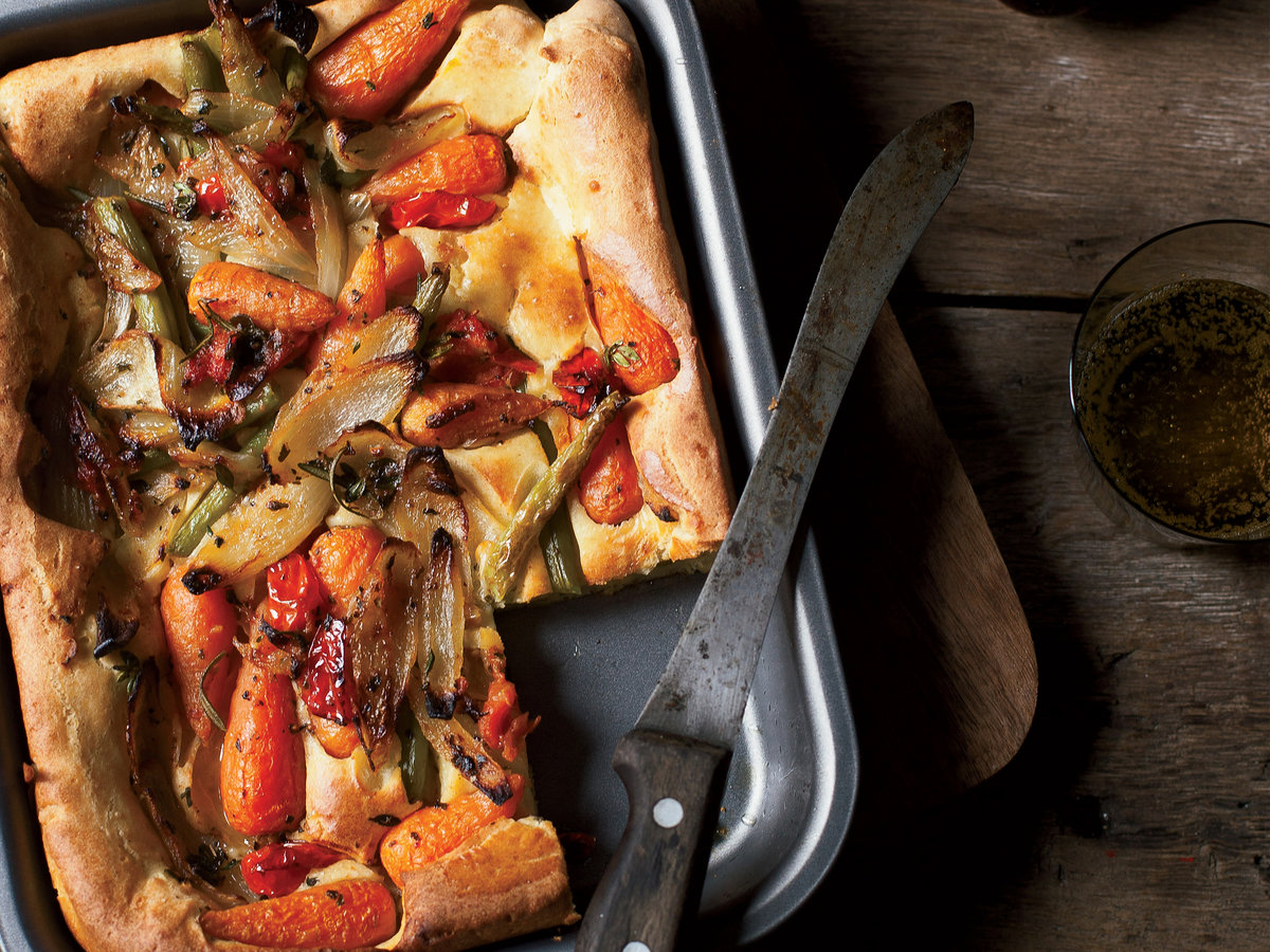 Vegetable Toad-In-The-Hole