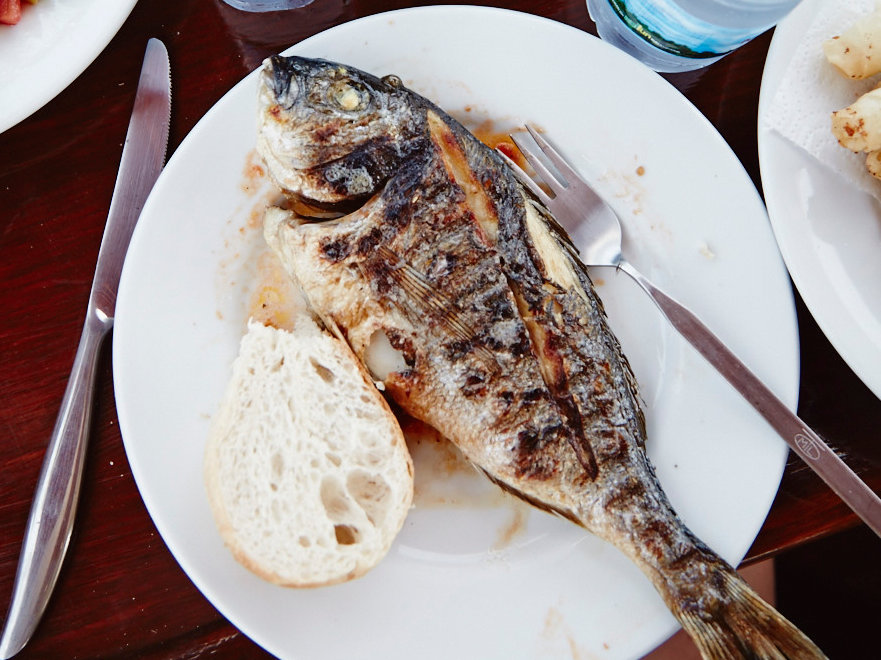 Grilled Sea Bream