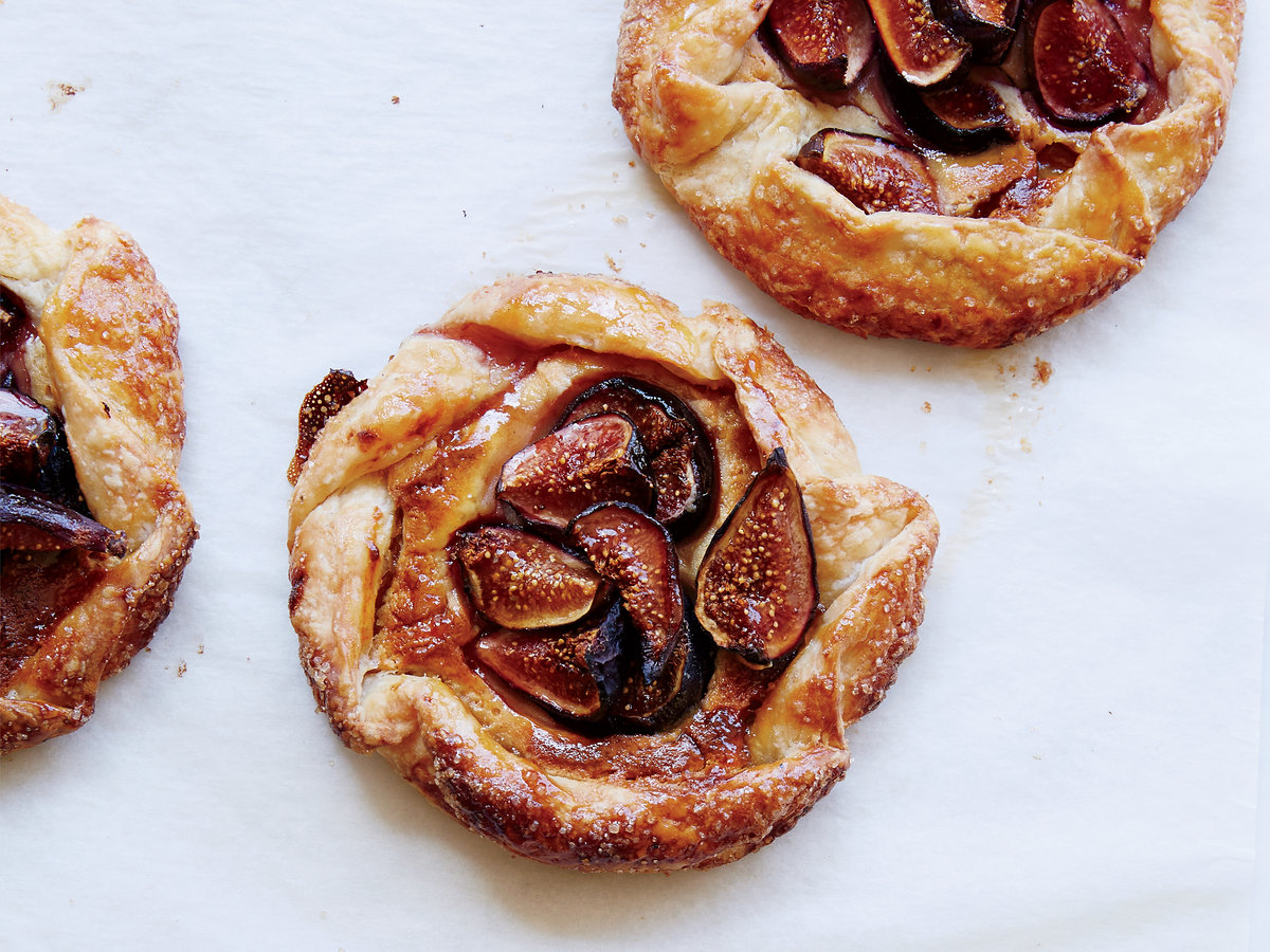 Fig-and-Frangipane Galettes