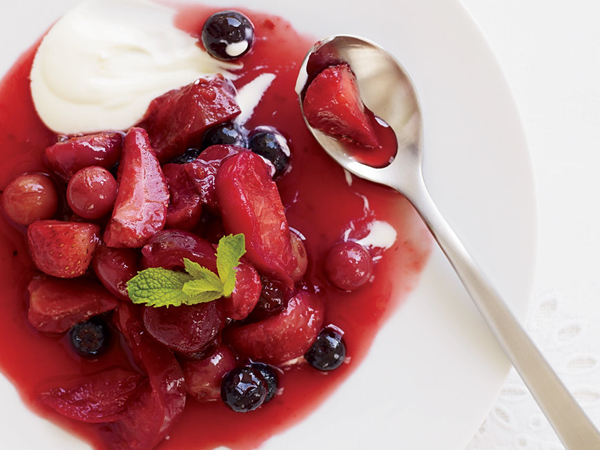 Red Fruit Compote